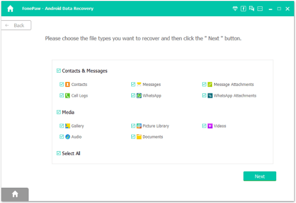 FonePaw Android Data Recovery 3.6.0 (2020) Patched 1